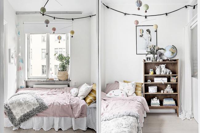 Căn phòng ngủ nhỏ xinh hơn dành cho em bé trong nhà
