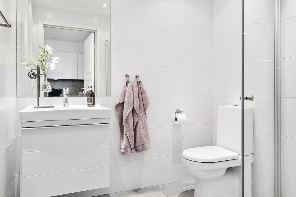 Nhà vệ sinh có không gian riêng ngăn nắp
