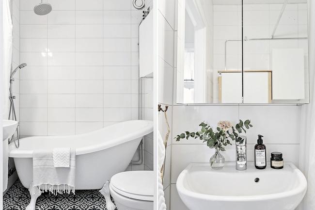 Phòng tắm có bồn và nhà vệ sinh kết hợp