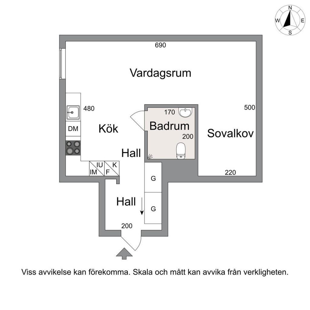 Bản thảo thiết kế căn hộ rộng 39m2
