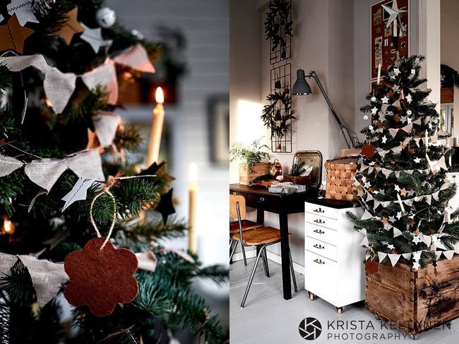 Tận dụng mọi góc nhà để trang trí tạo không khí Giáng sinh ngập tràn