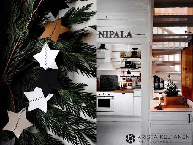 Trang trí cho cây thông Noel tại nhà với những tạo hình tự làm cực dễ