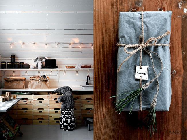 Cách gói quà cho mùa Giáng sinh an lành cực độc đáo