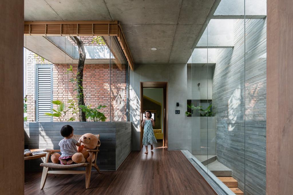 Các phòng đều tận dụng ánh sáng tự nhiên và gió trời