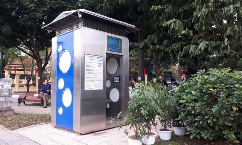Hà Nội thử nghiệm nhà vệ sinh công cộng thông minh