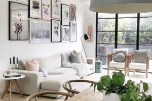 9 cách để làm sáng những phòng khách có gam màu be là chủ đạo