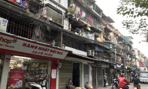 Đề xuất thi tuyển phương án cải tạo chung cư cũ