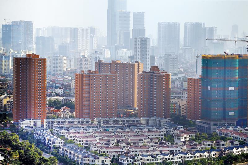 Hiện nay, mỗi năm, Việt Nam cần xây mới khoảng 100 triệu m2 nhà ở để đáp ứng nhu cầu của thị trường. Ảnh: Đ.T