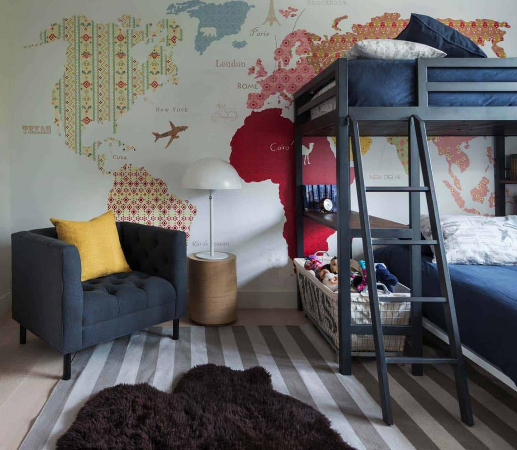 Nghiên cứu đã chỉ ra rằng việc sử dụng họa tiết, hình ảnh vào việc trang trí phòng của trẻ nhỏ sẽ kích thích sự phát triển trí tuệ, khả năng sáng tạo của bé từ rất sớm