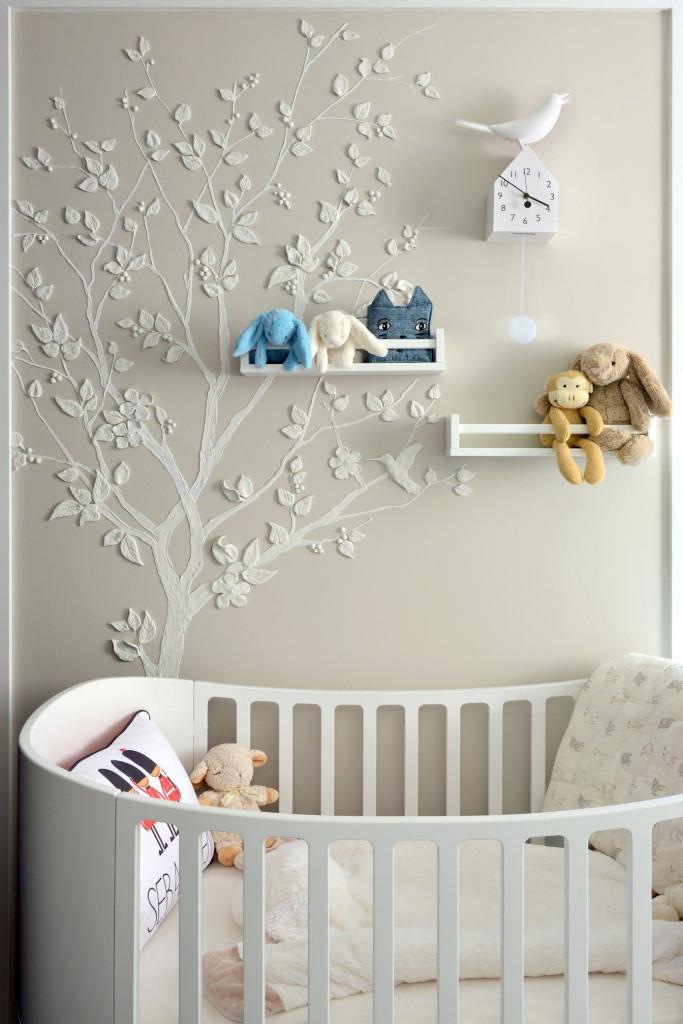 Góc nghỉ ngơi đầy mộng mơ được thiết kế dành riêng cho bé