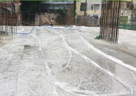 Công tác bảo dưỡng bê tông sàn
