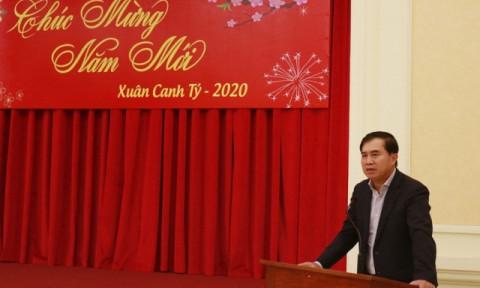 Bộ Xây dựng tổ chức gặp mặt báo chí đầu năm 2020