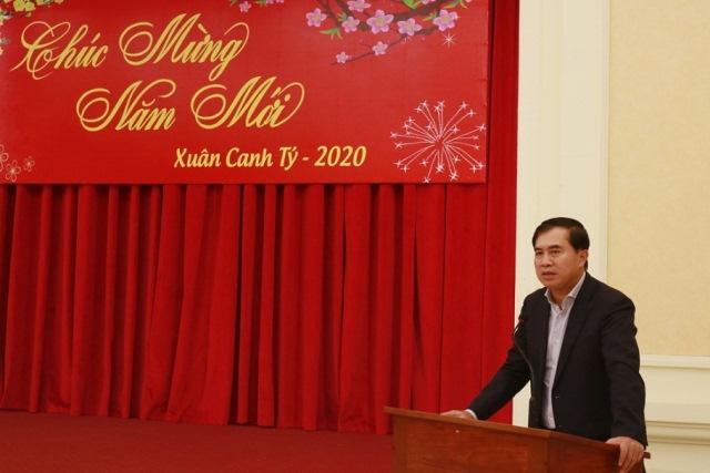 Thứ trưởng Bộ Xây dựng Lê Quang Hùng đã chủ trì gặp mặt báo chí nhân dịp Xuân Canh Tý 2020