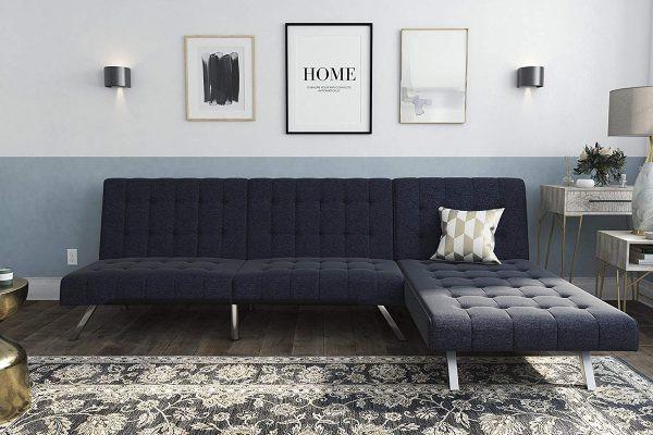 Đối với những căn phòng có diện tích nhỏ hơn, chọn chiếc ghế có mặt nệm rộng để ngủ sẽ không chiếm quá nhiều diện tích