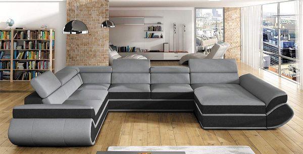 Với lưng tựa có thể điều chỉnh và hình dáng chữ U ấm cúng, chiếc ghế sofa lớn này rất phù hợp cho những đêm xem phim cùng gia đình hay những lúc đón tiếp khách vào dịp Tết