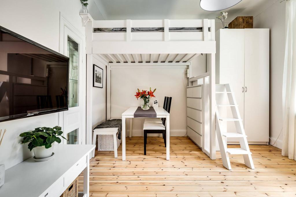 Không gian ăn uống tinh tế trong căn hộ nhỏ xinh