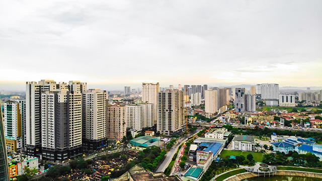 Với tốc đô đô thị hoá cao, thị trường bất động sản vẫn được dự báo có dư địa phát triển tốt. Ảnh: Thuỷ Tiên