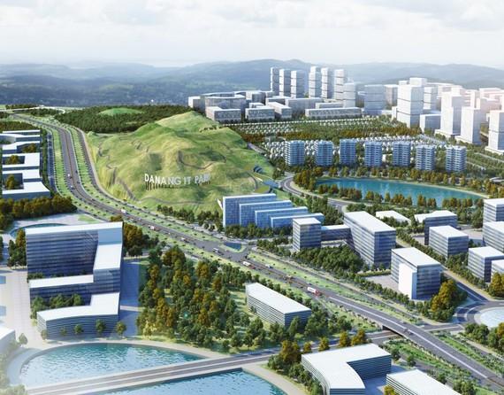 Khu CNTT tập trung Đà Nẵng- giai đoạn 1 có diện tích 131 ha, thuộc xã Hòa Liên, huyện Hòa Vang, thành phố Đà Nẵng
