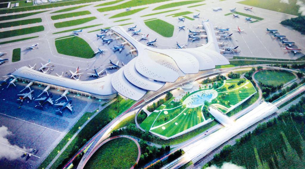 Các gói thầu xây dựng hạ tầng khu tái định cư có vai trò quan trọng, quyết định tiến độ Dự án Cảng hàng không quốc tế Long Thành. Ảnh: Nhật Bắc