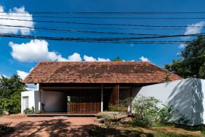 Ngôi nhà 3 khối độc đáo tại Đắk Lắk