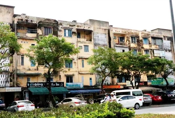 Khu chung cư Đống Đa già nua qua 40 năm sử dụng