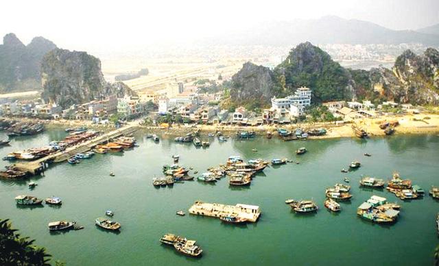 Một góc huyện đảo Vân Đồn (Nguồn: Báo Công Thương)