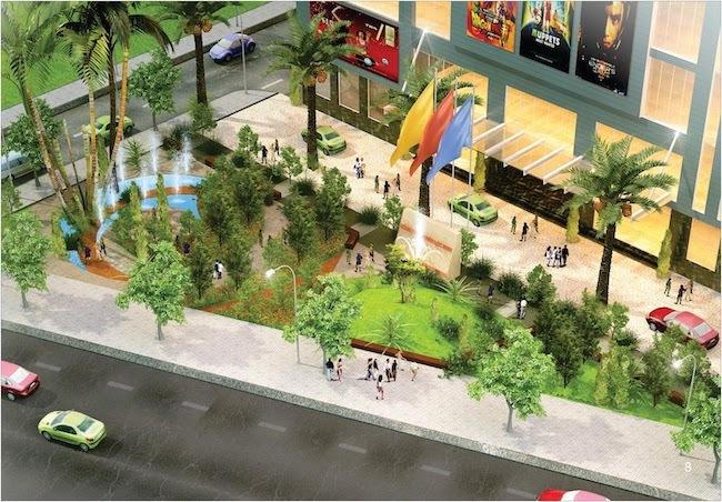 Lộc Ninh Singashine chú trọng phát triển lõi cảnh quan cho những trải nghiệm sống xanh hiện đại