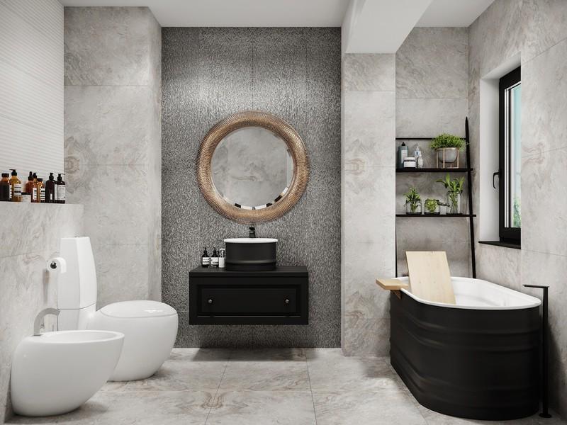 Đồ nội thất trong phòng là tập hợp các dạng hình học khác nhau