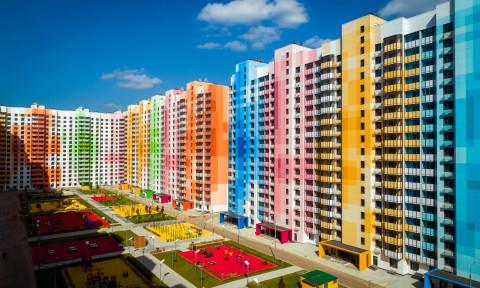 """Losa Ghini Associati phản ánh sự """"đơn điệu"""" của Matxcova với những khu chung cư rực rỡ sắc màu"""