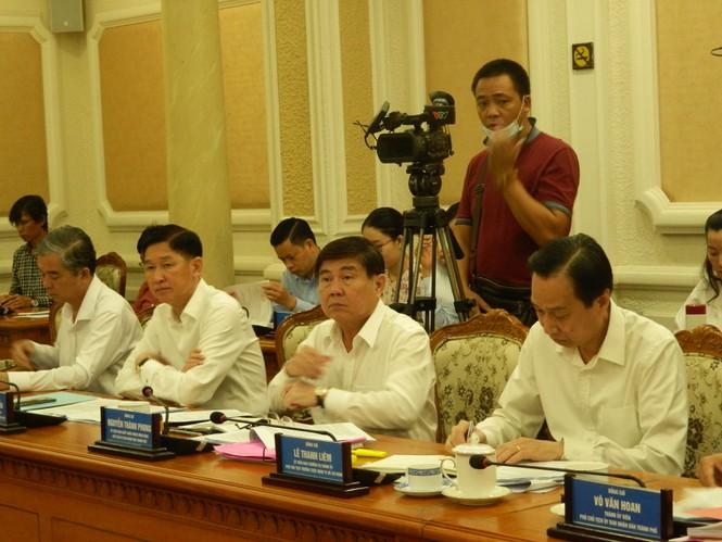 Chủ tịch UBND TPHCM Nguyễn Thành Phong kết luận cuộc họp