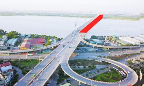 2.540 tỷ xây cầu Vĩnh Tuy giai đoạn 2 bắc qua Sông Hồng