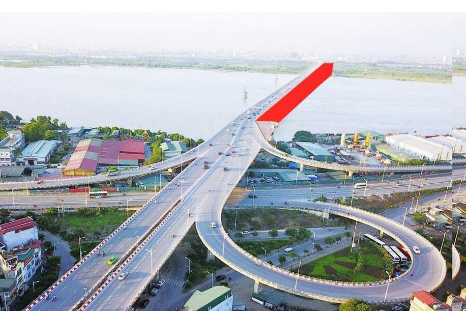 Hà Nội xây cầu Vĩnh Tuy giai đoạn 2 bắc qua Sông Hồng hơn 2.540 tỷ đồng (Ảnh: Đầu tư)