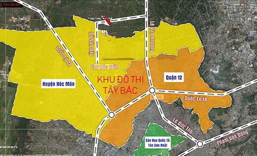 UBND TP. Hồ Chí Minh vừa phê duyệt điều chỉnh nhiệm vụ quy hoạch phân khu tỷ lệ 1/5000 tại Khu đô thị Tây Bắc TP. Hồ Chí Minh