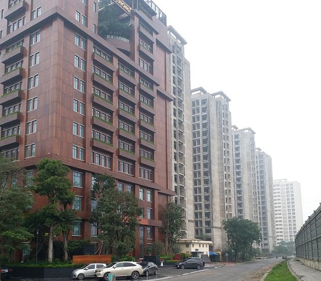 Quy hoạch khối tích chiều cao công trình trong đô thị thời gian qua có nhiều hạn chế. (trong ảnh: Dự án nhà ở sinh viên tại khu vực Pháp Vân (quận Hoàng Mai, Hà Nội). Ảnh: Doãn Thành