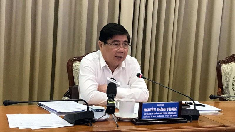 Chủ tịch UBND TP HCM Nguyễn Thành Phong