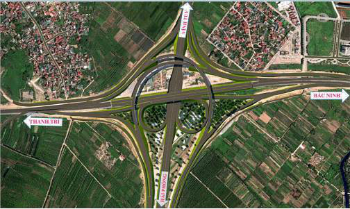 Nút giao Cổ Linh với cao tốc Hà Nội - Hải Phòng sẽ được hoàn thành trong năm 2021