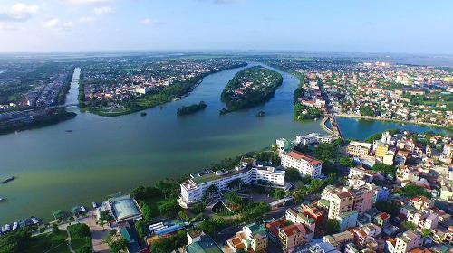 Dự án khu dịch vụ cao cấp bên bờ sông Hương sẽ được thực hiện tại số 5 Lê Lợi, phường Vĩnh Ninh, thành phố Huế