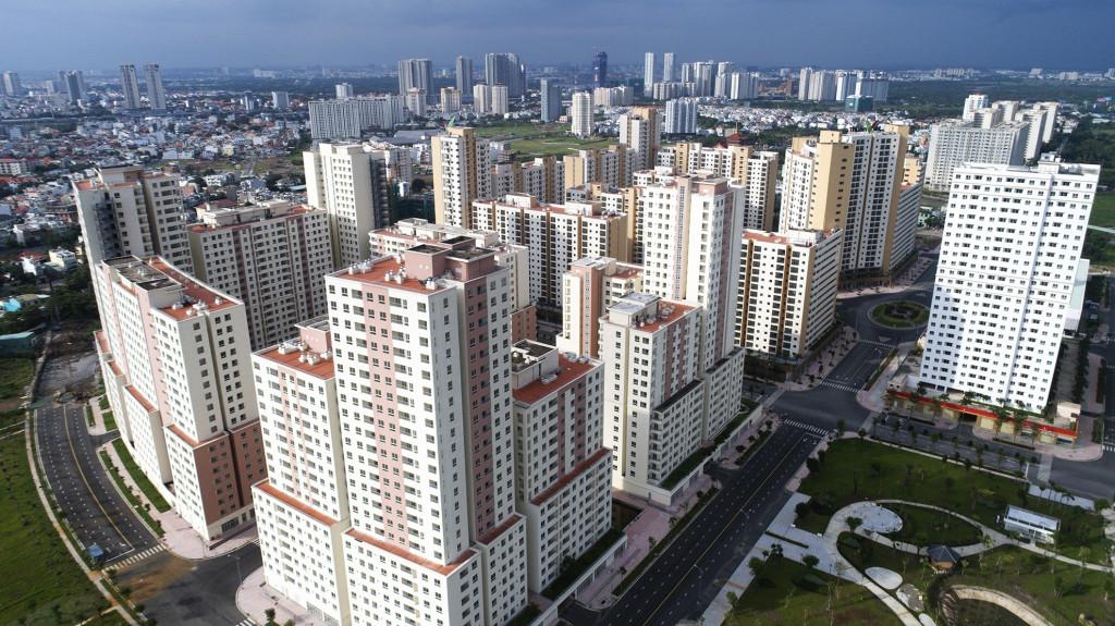 Khu tái định cư Bình Khánh, quận 2. (Ảnh: Internet)
