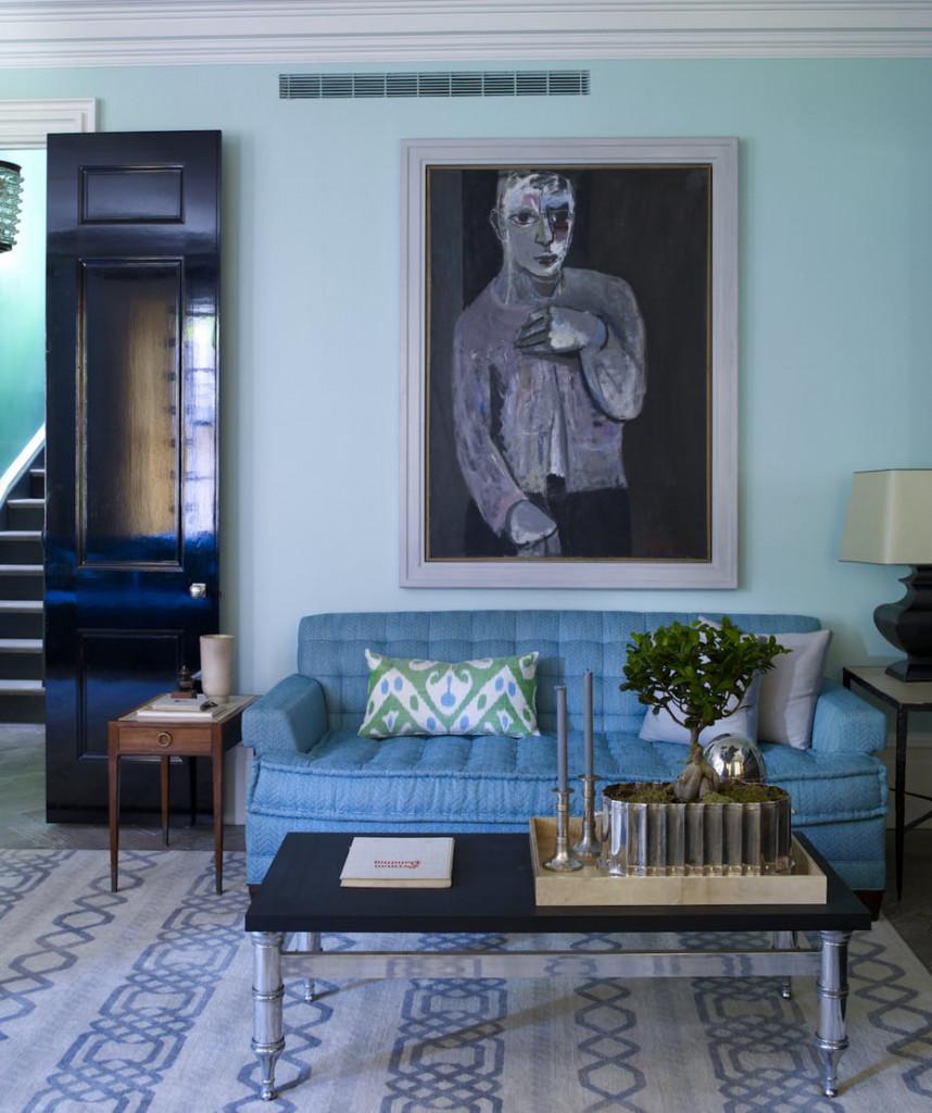 Bạn không nhất thiết phải lựa chọn những bức tranh treo tường đắt giá để trang trí