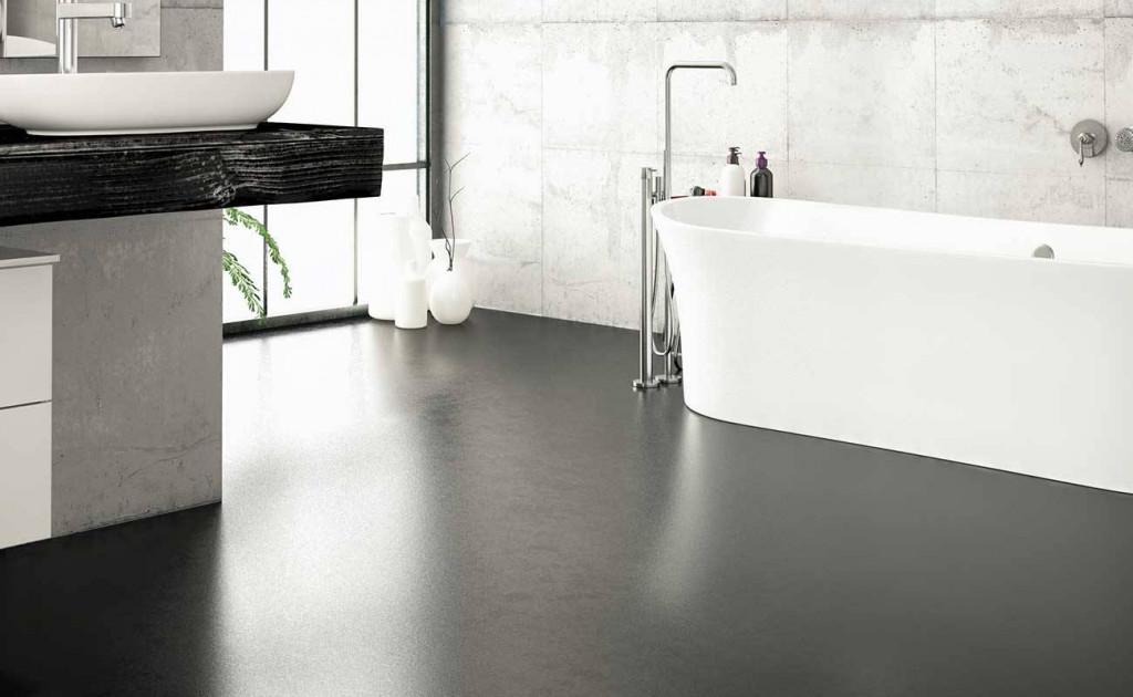 Sàn bê tông mài dễ đem lại cảm giác lạnh lẽo, gia chủ nên lưu ý lựa chọn đồ nội thất và phối màu sắc cho phù hợp