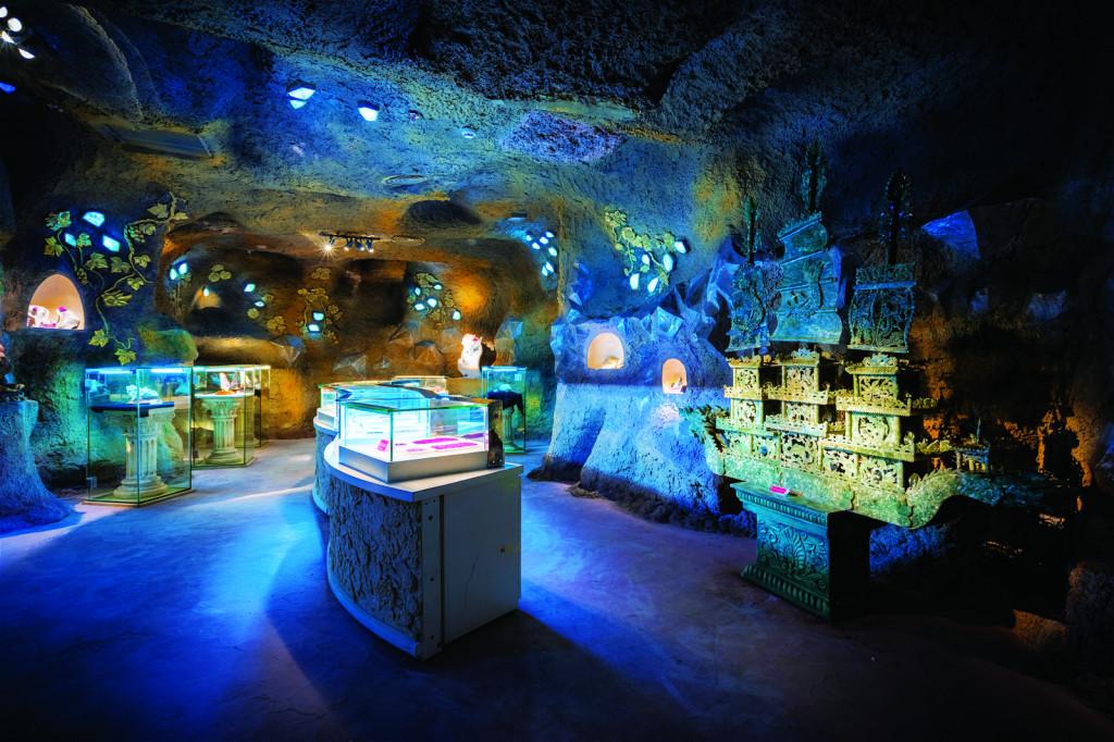Hình ảnh Bảo tàng Đá quý tại tầng 5