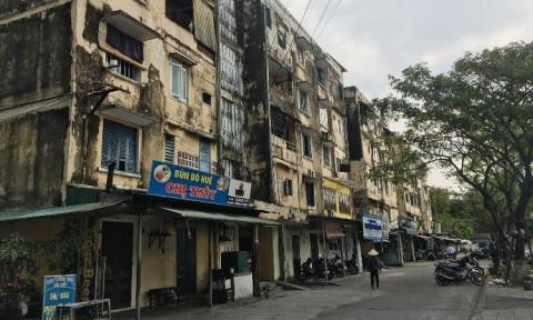 Thừa Thiên Huế: Khu chung cư cũ nát mỏi mòn chờ cải tạo