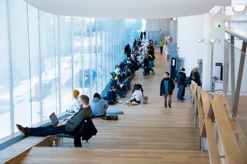 Ở Phần Lan, thư viện không chỉ là nơi học tập, đọc hay mượn sách, mà còn là nơi quan trọng để kết nối với mọi người./.