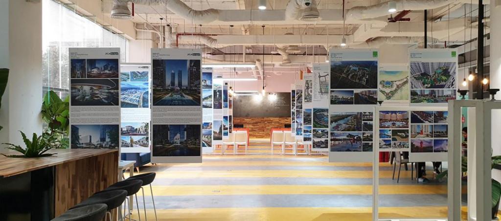 Không gian triển lãm đồ án Thiết kế cảnh quan tại GOO Design Community