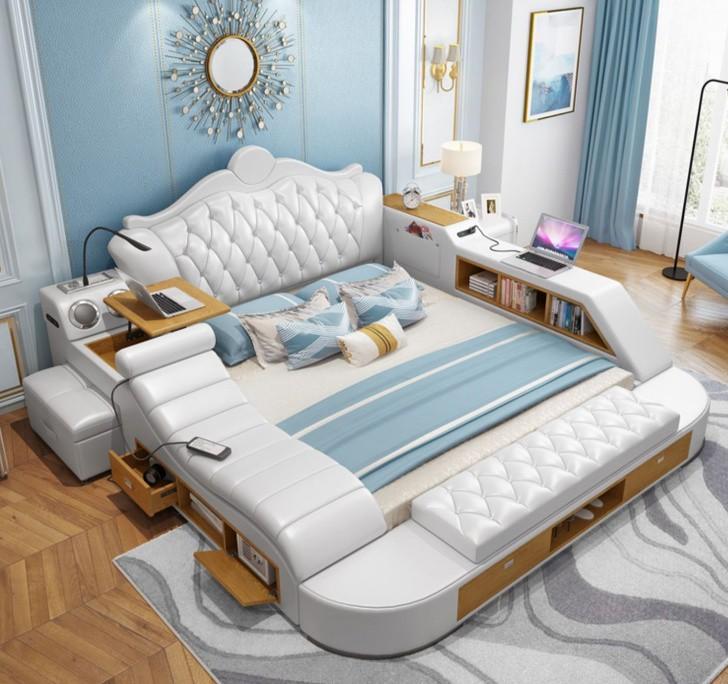 Chiếc giường đa năng này sẽ khiến bạn chỉ muốn ở trên đó cả ngày