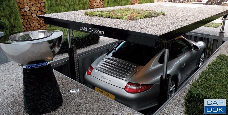 Góc đỗ xe ô tô vừa gọn gàng, vừa bảo vệ tốt nhất chiếc xe hơi của bạn