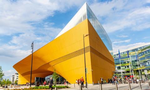Chiêm ngưỡng kiến trúc độc đáo của Thư viện hiện đại nhất Phần Lan