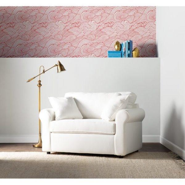 Bạn cảm thấy không thể tìm được một chiếc ghế ngủ hoàn hảo phù hợp với nội thất nhà bạn? Hãy lựa chọn thiết kế bọc da lộn này