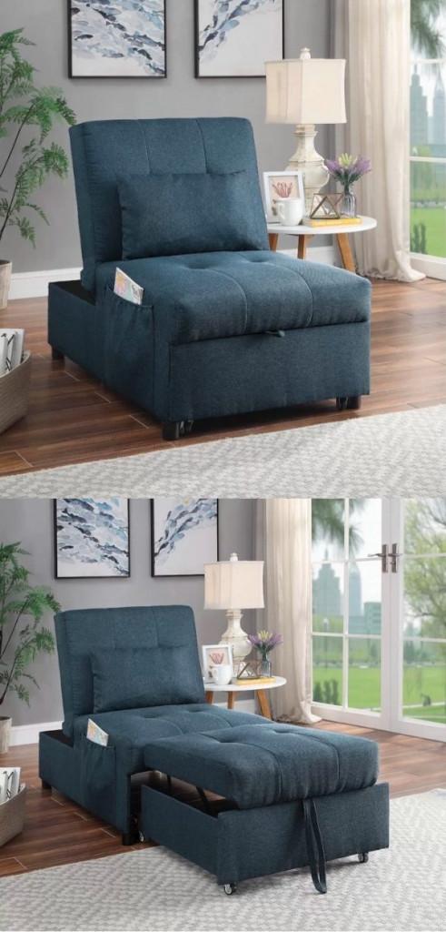 Bạn có thể mở, gấp chiếc ghế sofa ở nhiều tư thế khác nhau tùy theo mục đích sử dụng