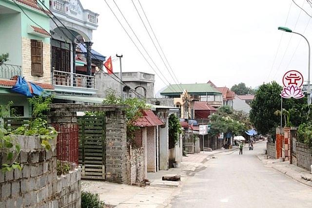 Diện mạo mới tại vùng đồng bào dân tộc miền núi xã An Phú, huyện Mỹ Đức, TP Hà Nội. Ảnh: Trọng Tùng